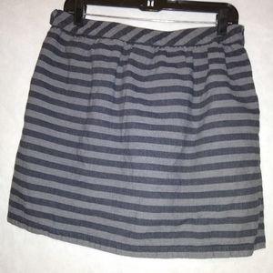 Gap Striped Skirt Size 6